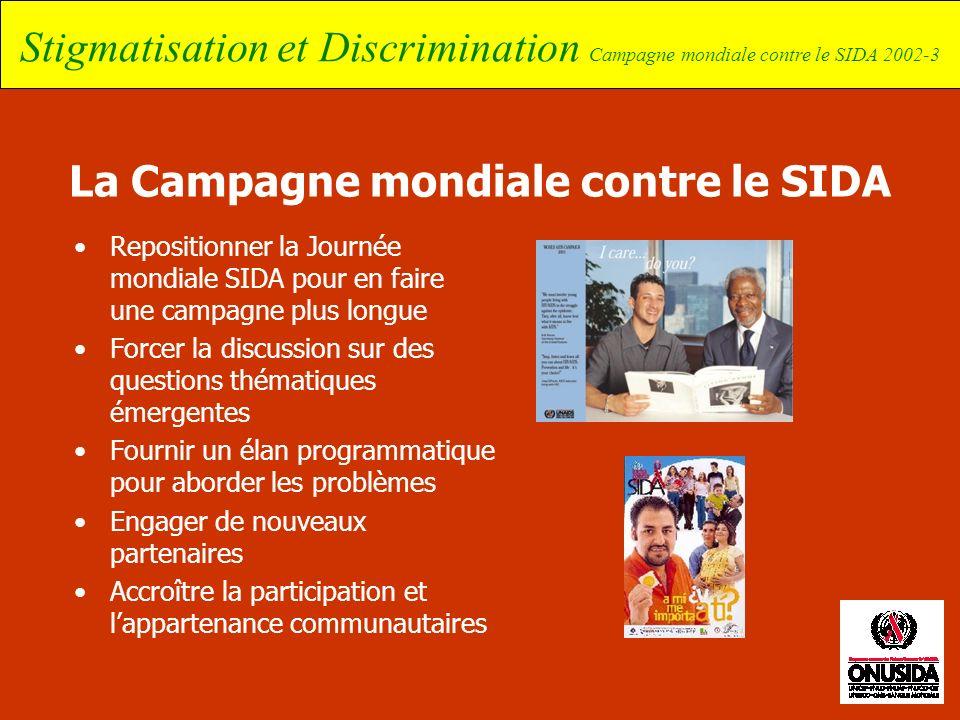 La Campagne mondiale contre le SIDA