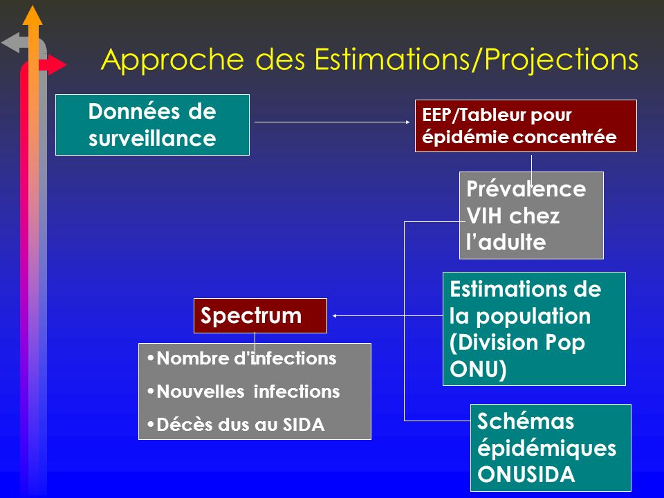 Approche des Estimations/Projections