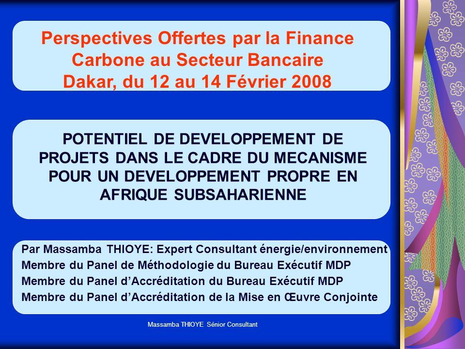 Perspectives Offertes par la Finance Carbone au Secteur Bancaire