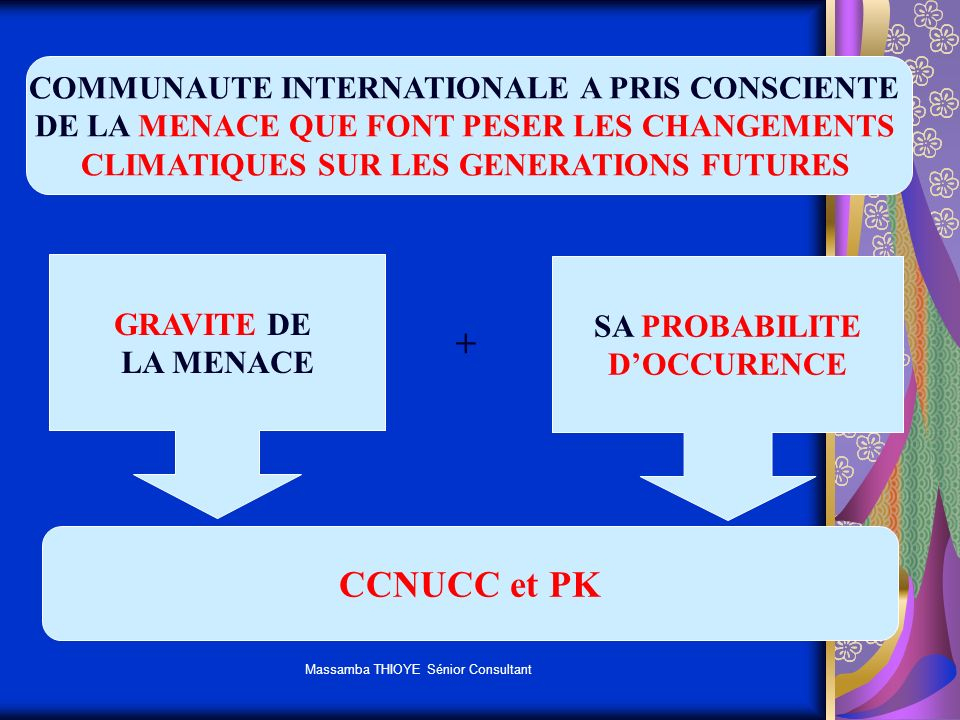 + CCNUCC et PK COMMUNAUTE INTERNATIONALE A PRIS CONSCIENTE