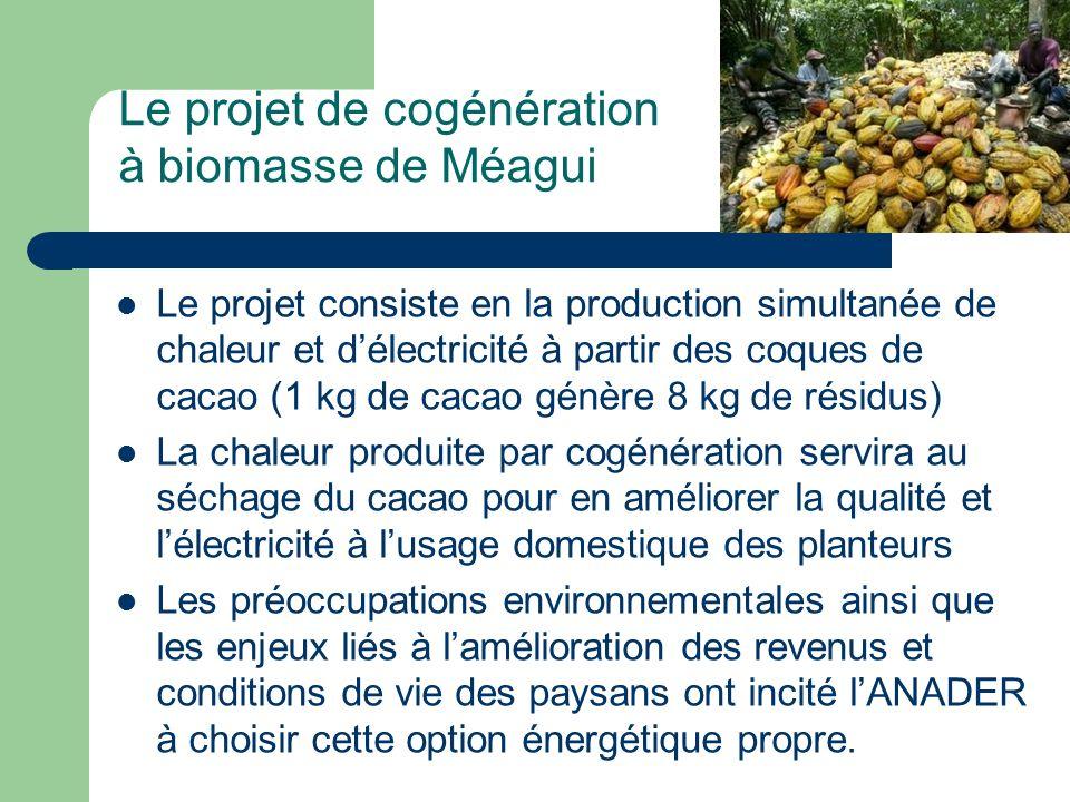 Le projet de cogénération à biomasse de Méagui