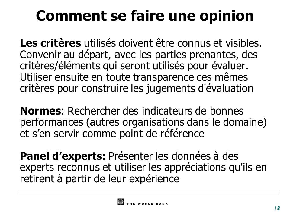 Comment se faire une opinion