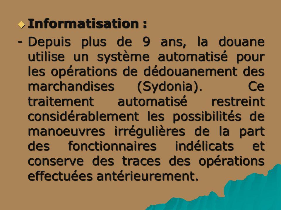 Informatisation :