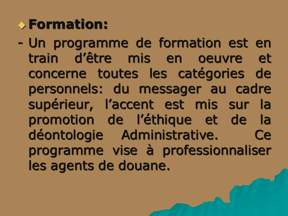 Formation: