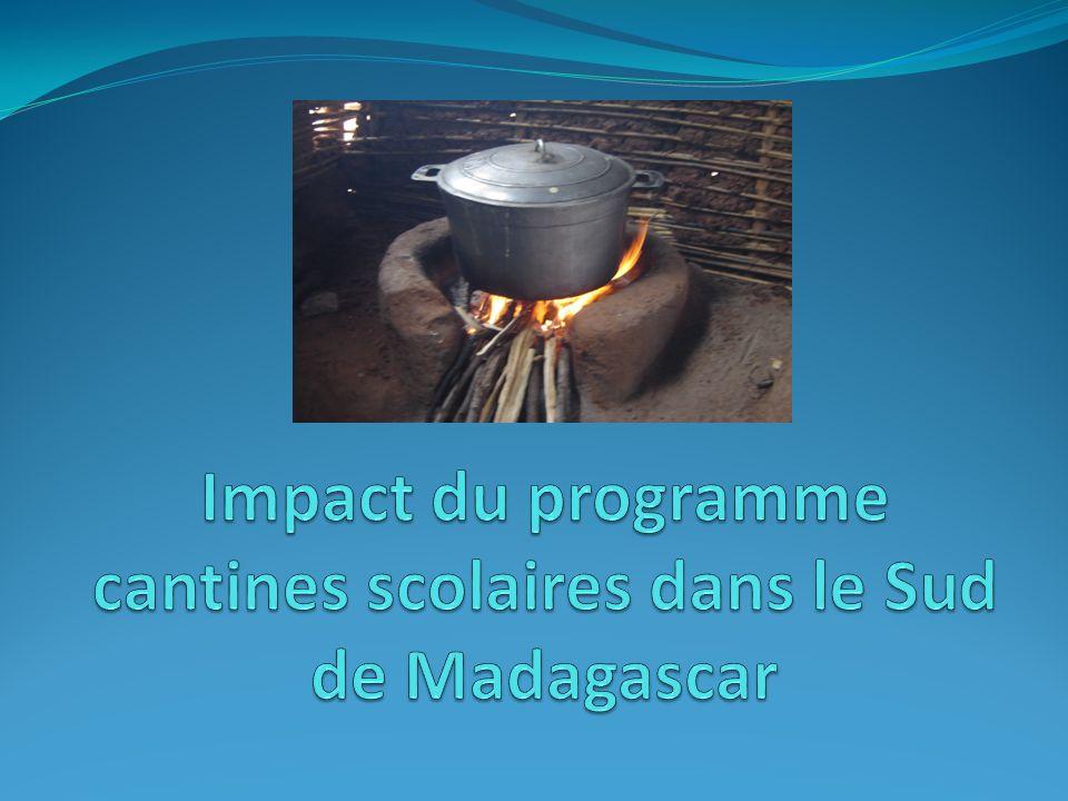 Impact du programme cantines scolaires dans le Sud de Madagascar