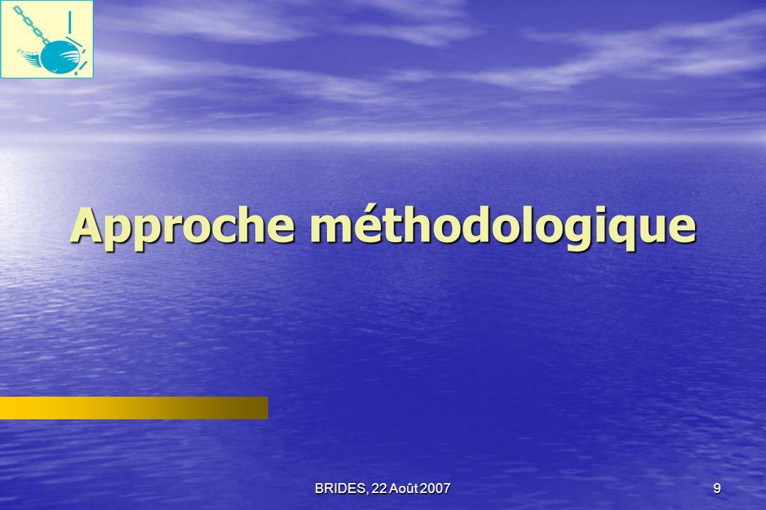 Approche méthodologique