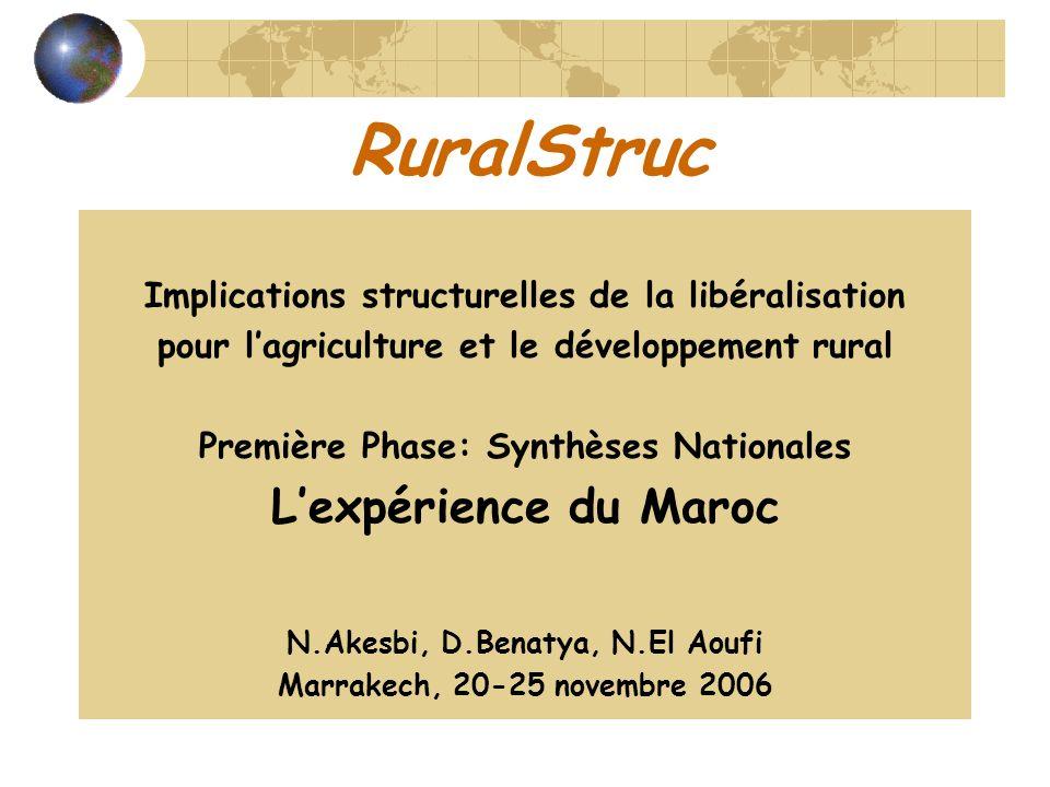 RuralStruc L'expérience du Maroc
