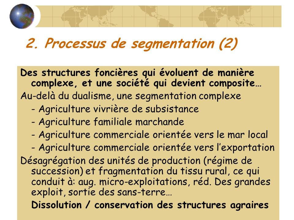 2. Processus de segmentation (2)