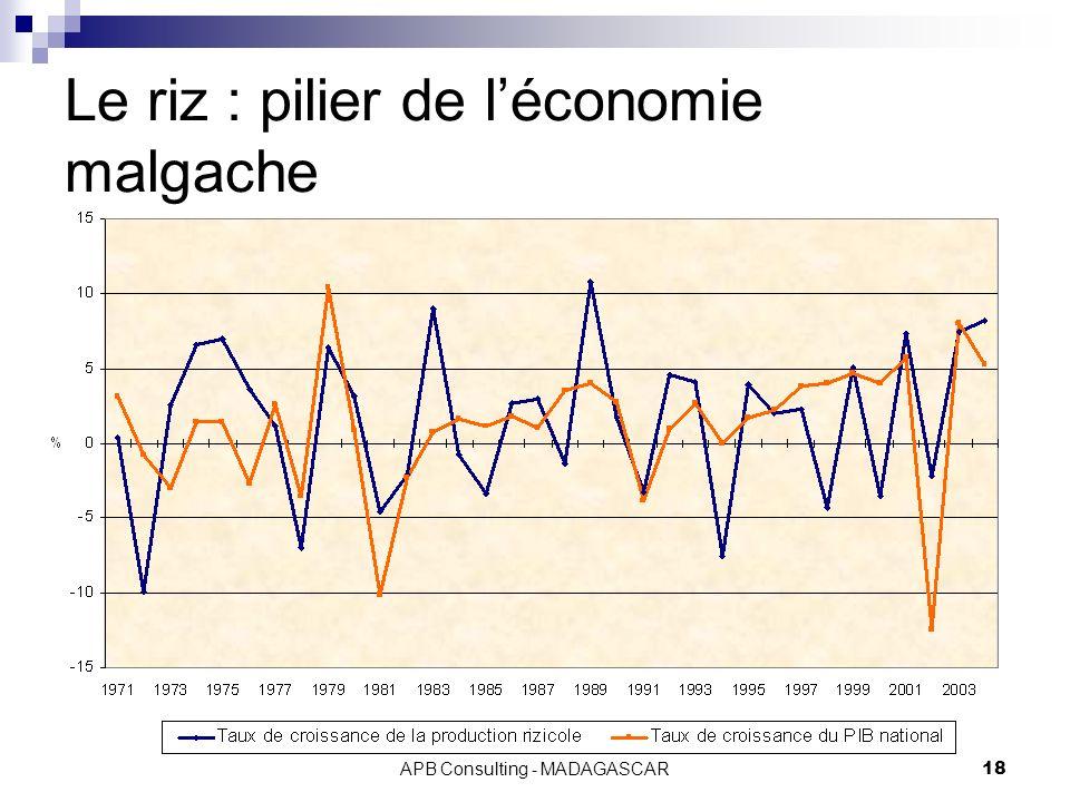 Le riz : pilier de l'économie malgache