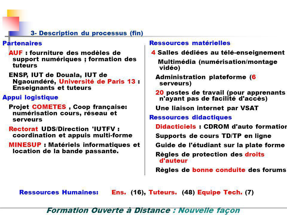 3- Description du processus (fin)