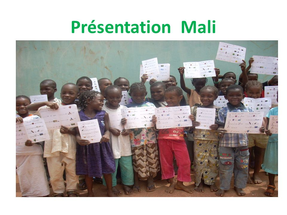 Présentation Mali