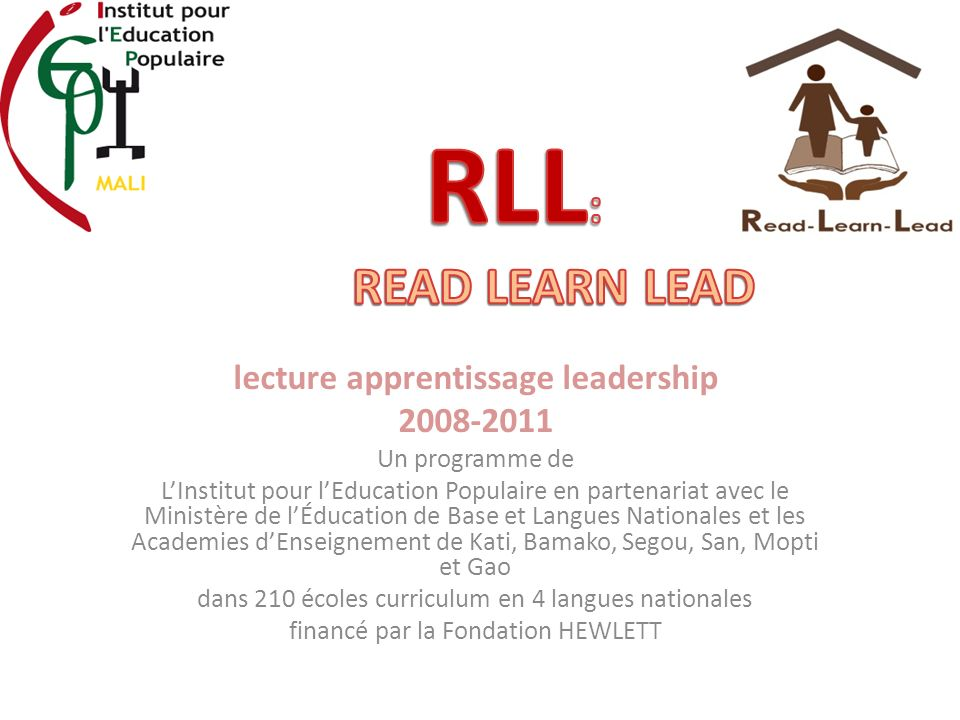 lecture apprentissage leadership