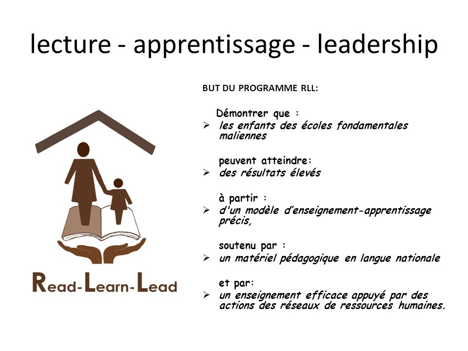 lecture - apprentissage - leadership