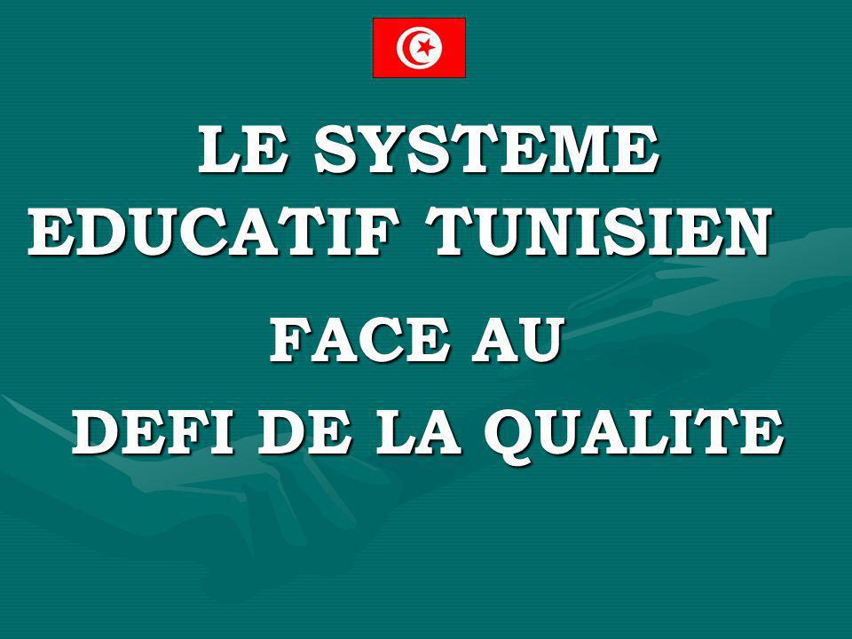 LE SYSTEME EDUCATIF TUNISIEN