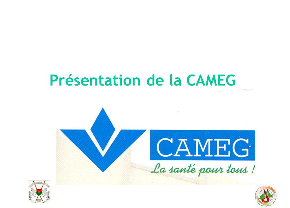 Présentation de la CAMEG