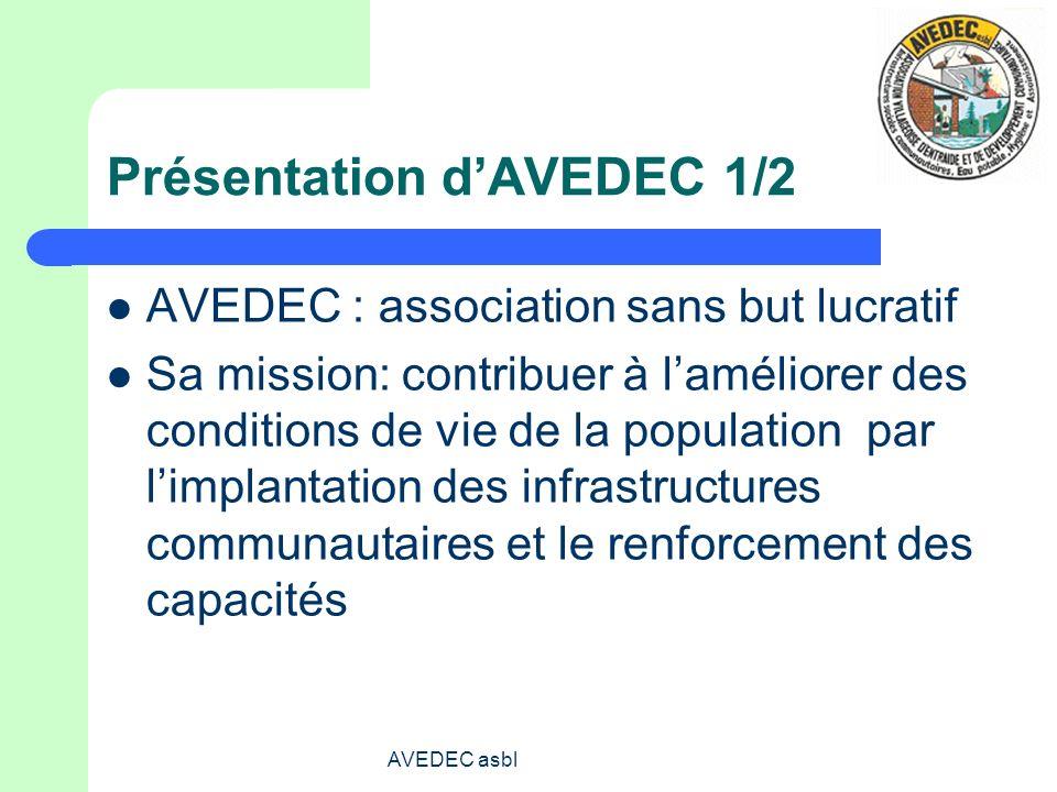 Présentation d'AVEDEC 1/2