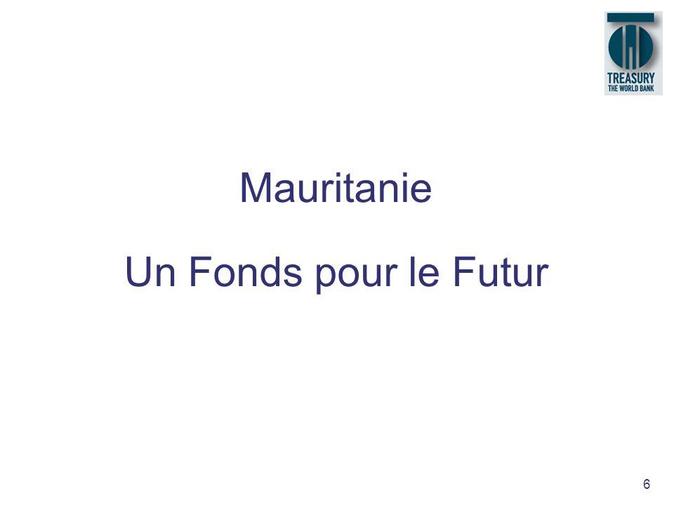 Mauritanie Un Fonds pour le Futur