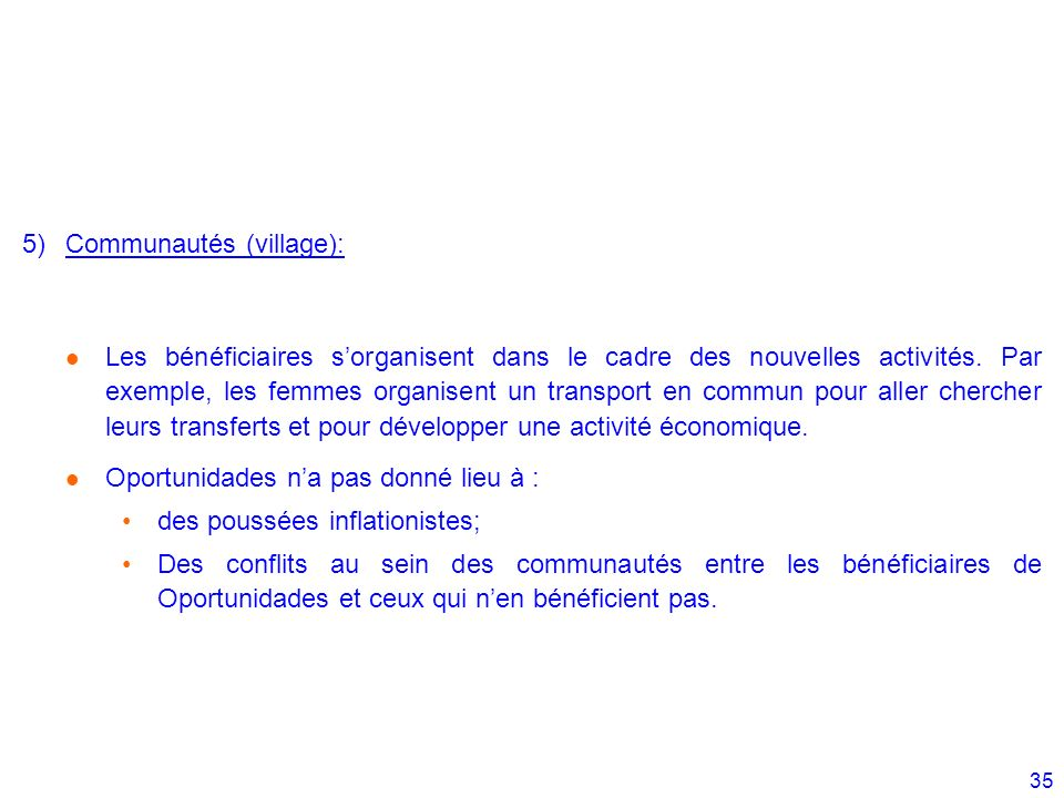 Communautés (village):