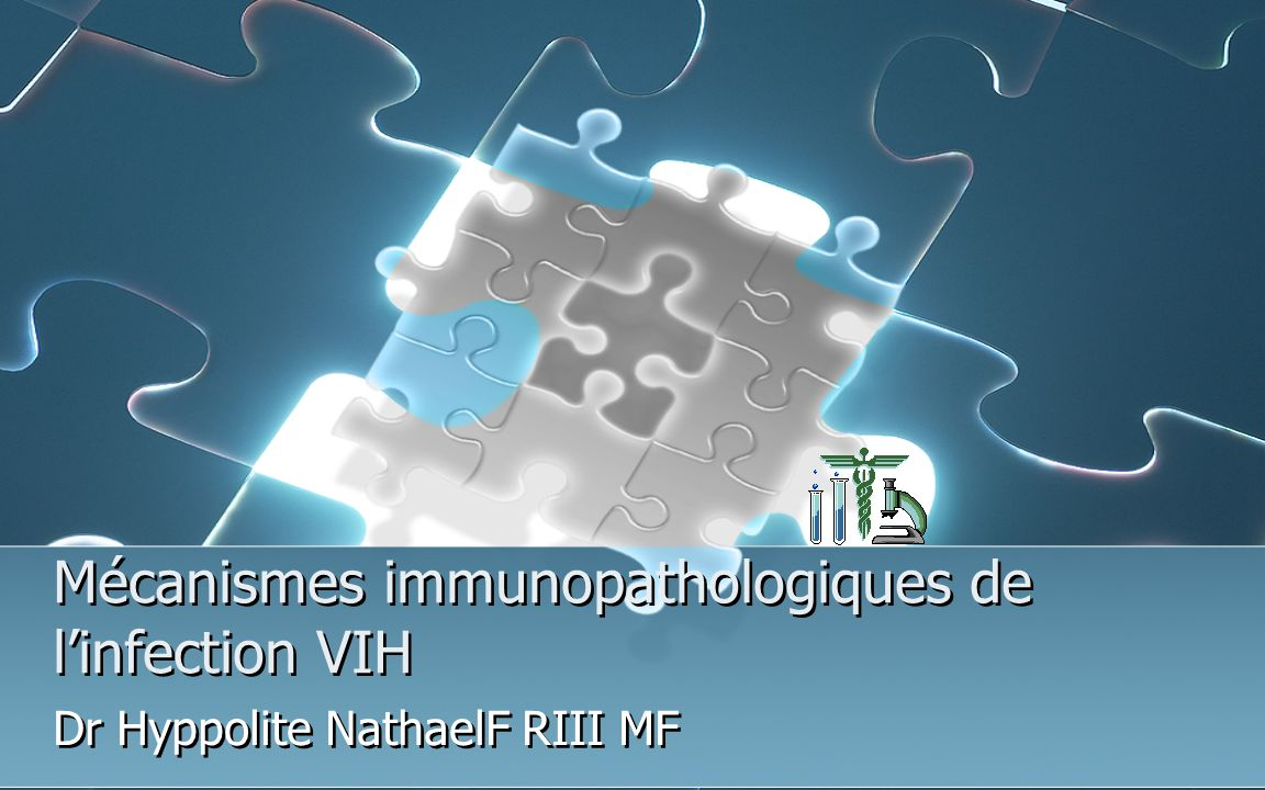 Mécanismes immunopathologiques de l'infection VIH