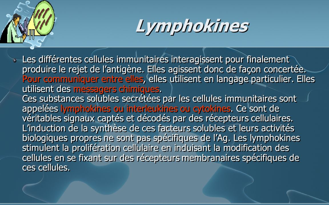 Lymphokines