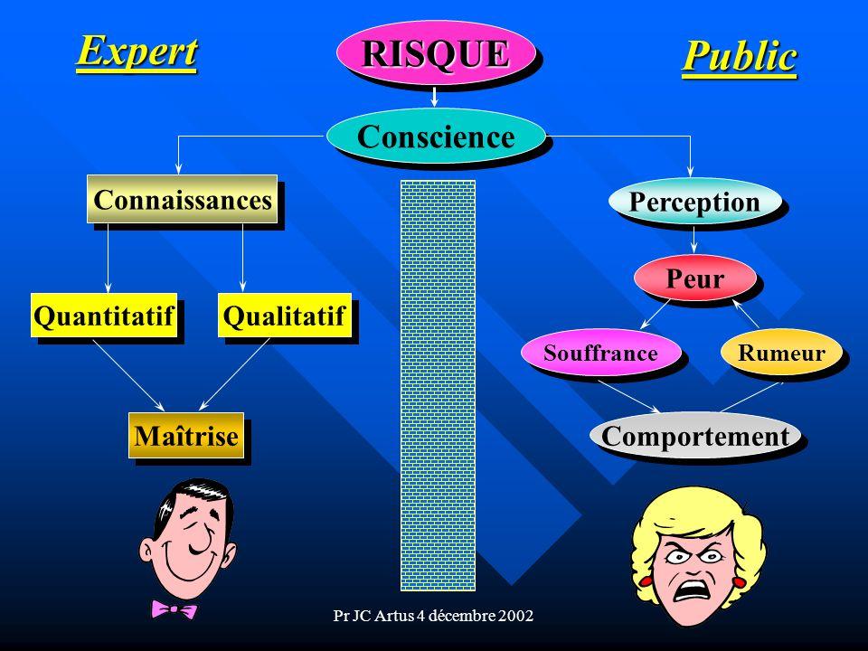 Expert Public RISQUE Conscience Connaissances Perception Peur
