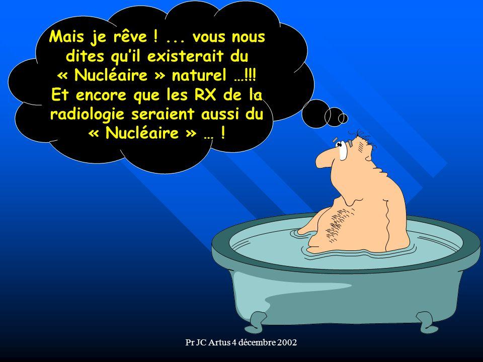 Mais je rêve ! ... vous nous dites qu'il existerait du « Nucléaire » naturel …!!!