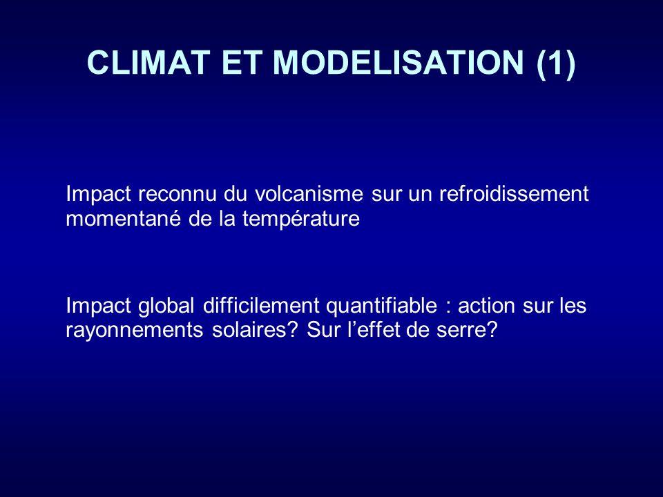 CLIMAT ET MODELISATION (1)