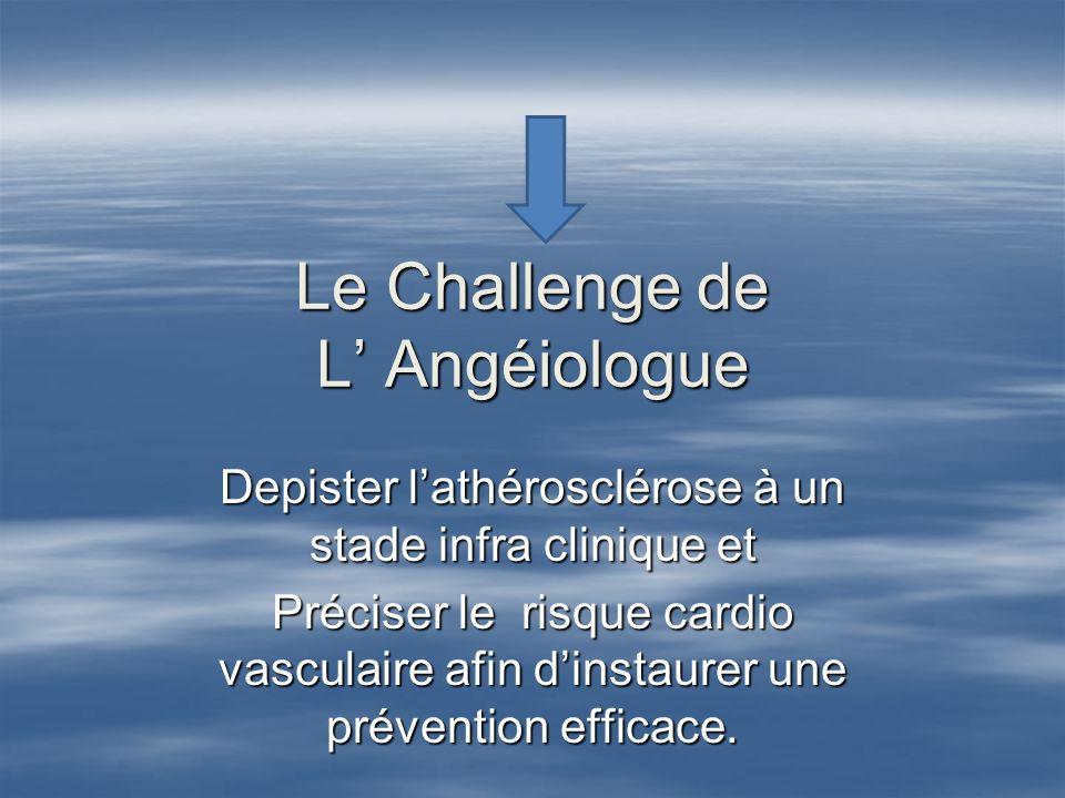 Le Challenge de L' Angéiologue
