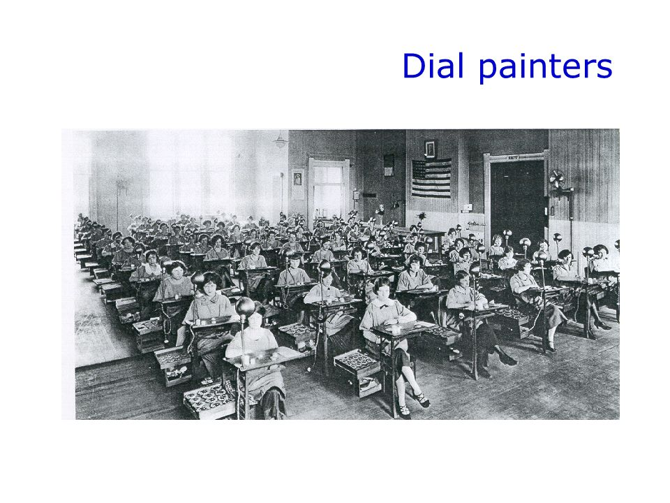 Dial painters