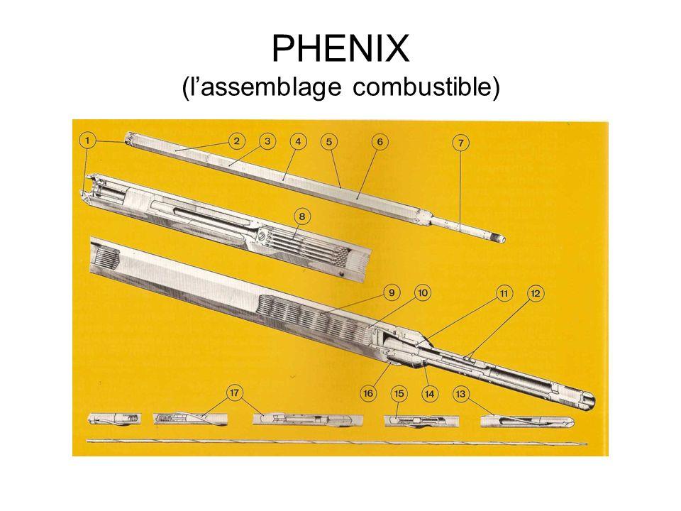 PHENIX (l'assemblage combustible)