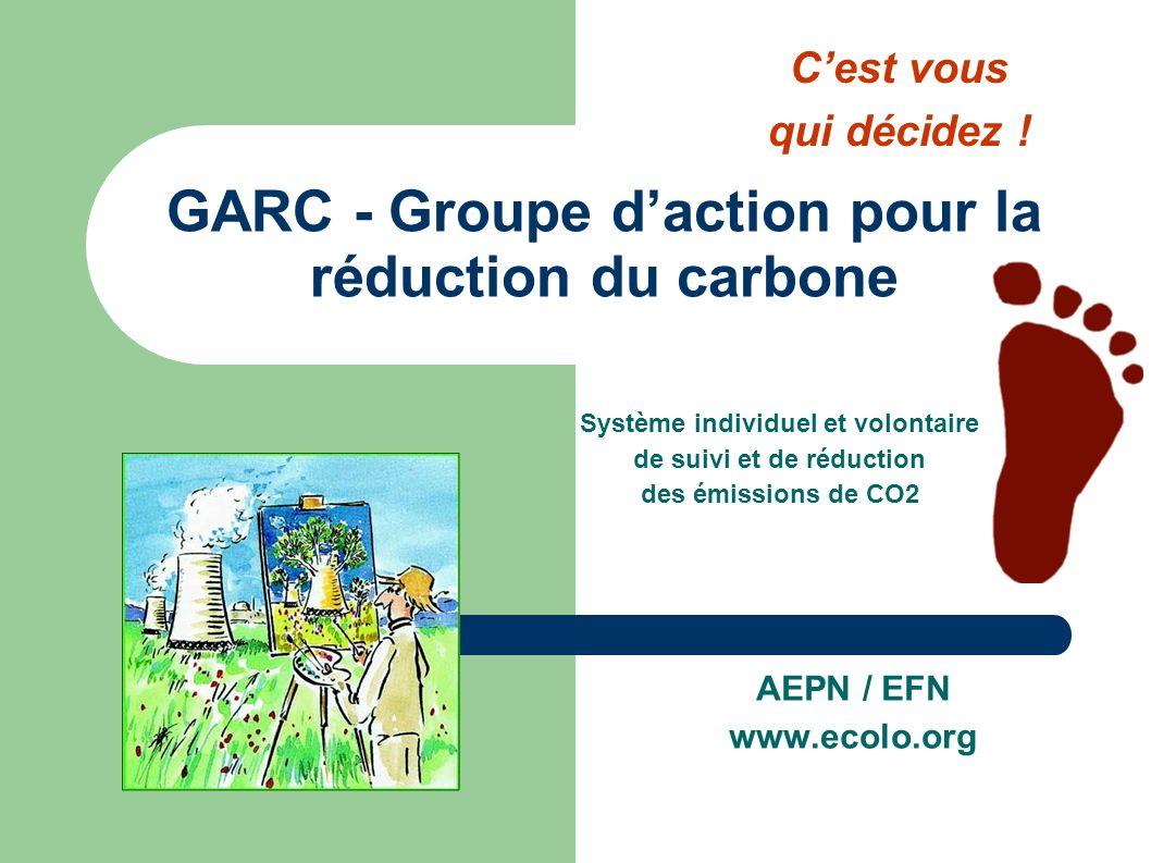 GARC - Groupe d'action pour la réduction du carbone