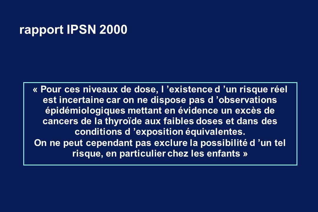 rapport IPSN 2000