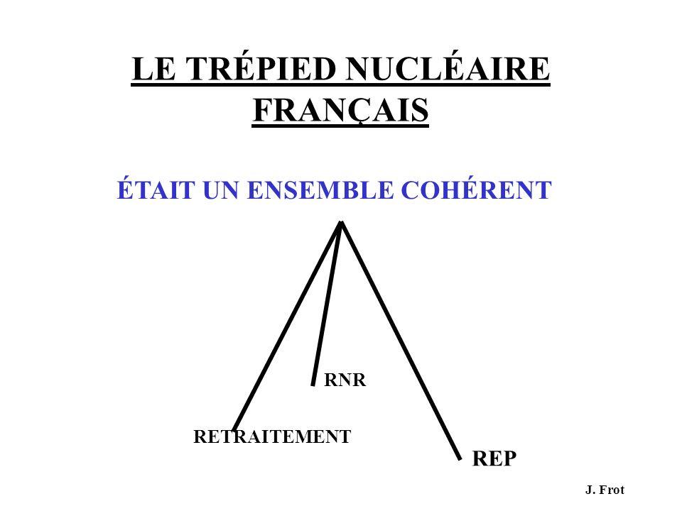 LE TRÉPIED NUCLÉAIRE FRANÇAIS