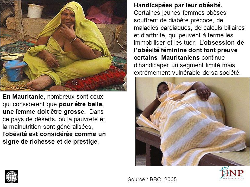 Handicapées par leur obésité
