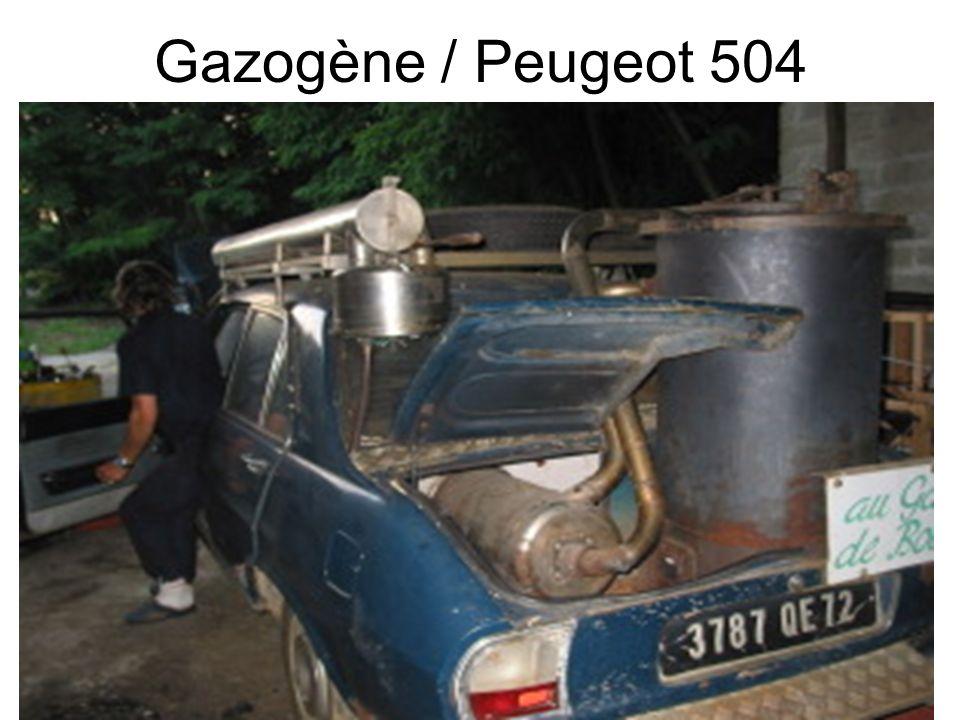 Gazogène / Peugeot 504