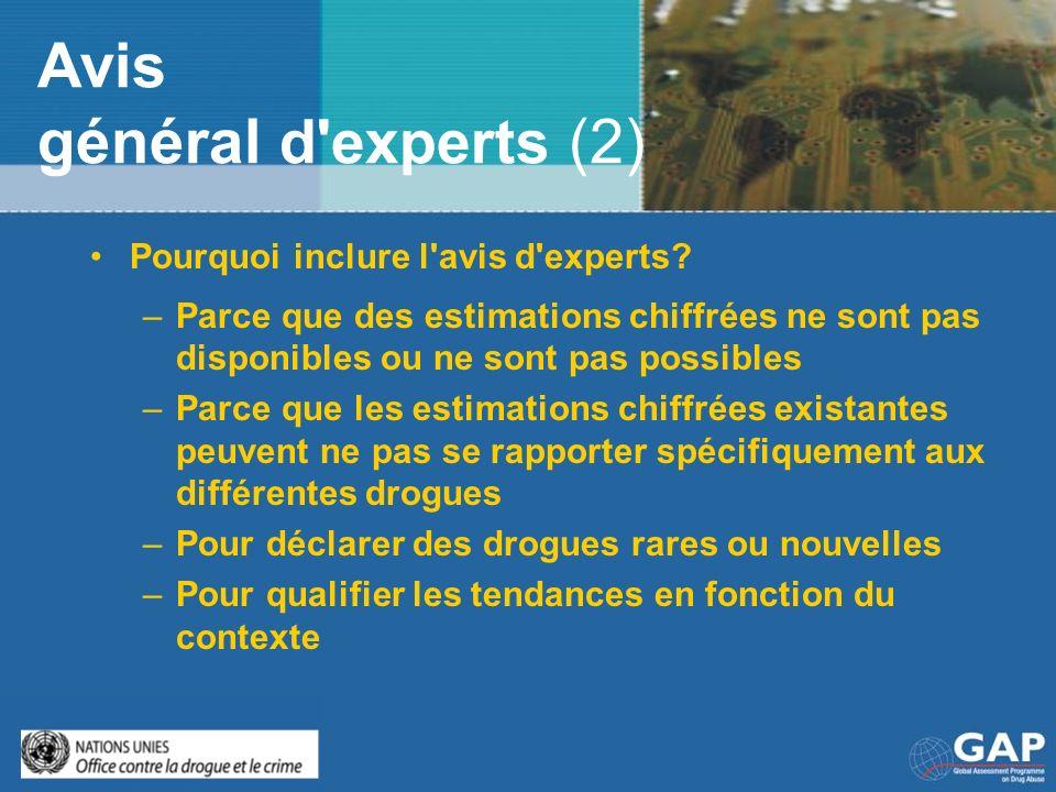 Avis général d experts (2)