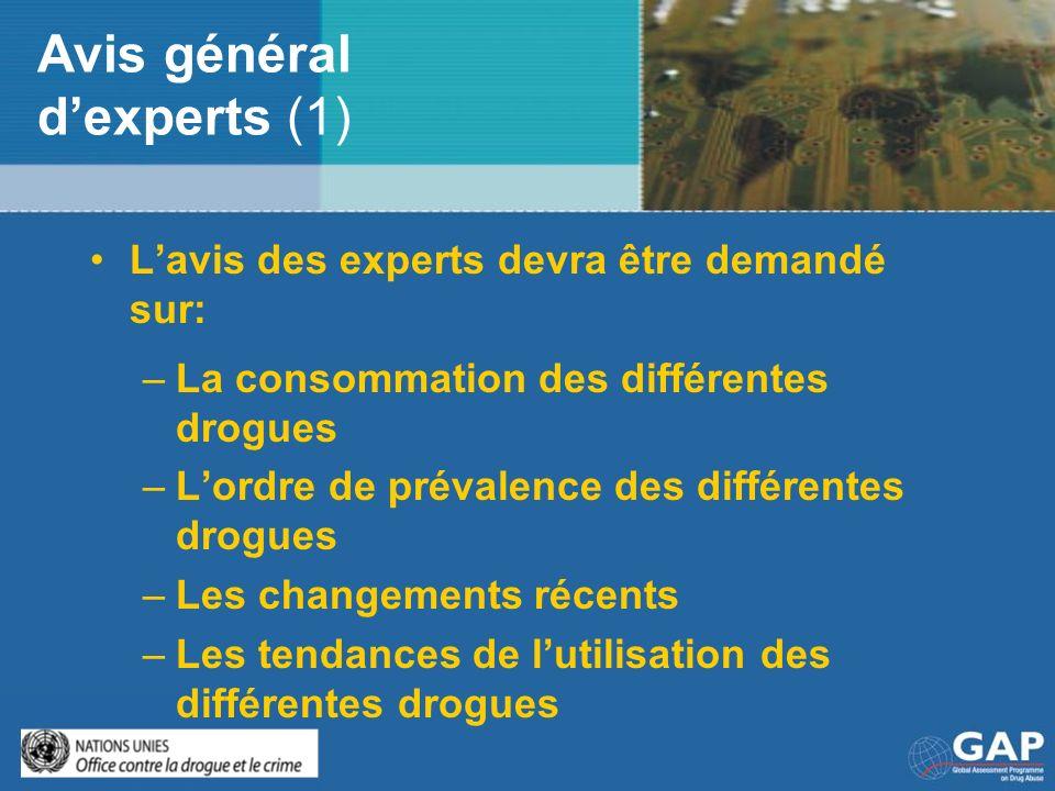 Avis général d'experts (1)