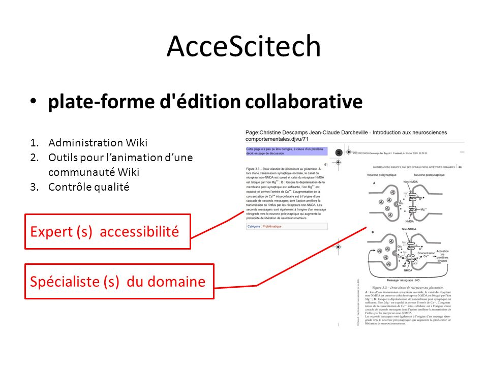 AcceScitech plate-forme d édition collaborative