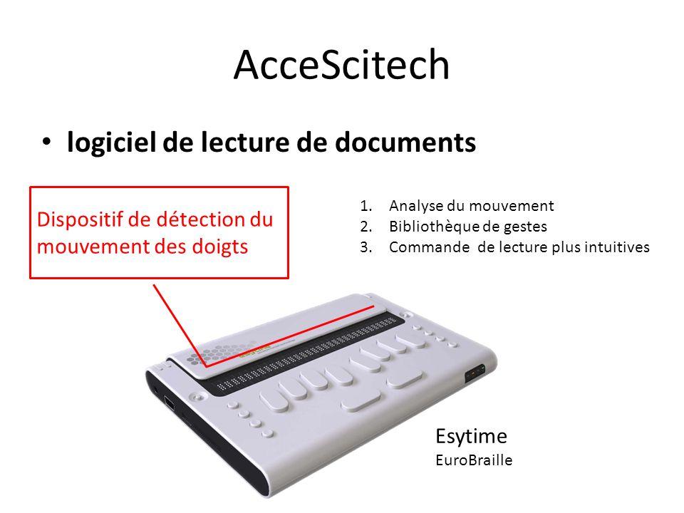 AcceScitech logiciel de lecture de documents