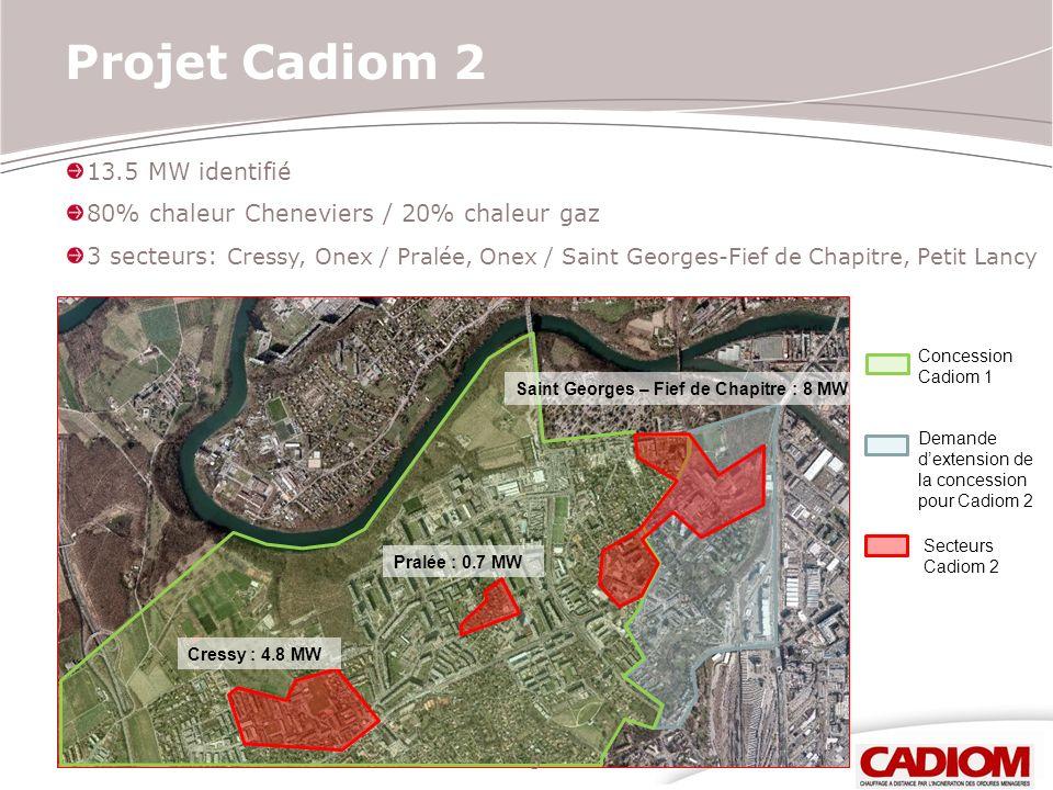 Projet Cadiom 2 13.5 MW identifié