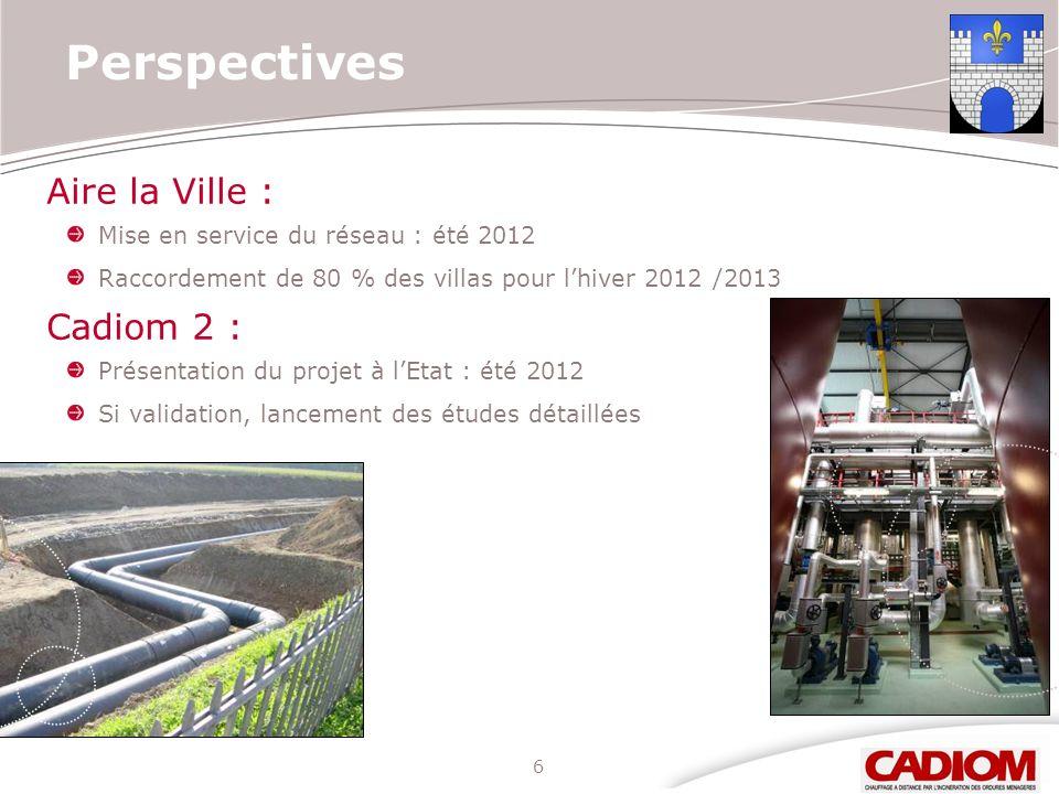 Perspectives Aire la Ville : Cadiom 2 :