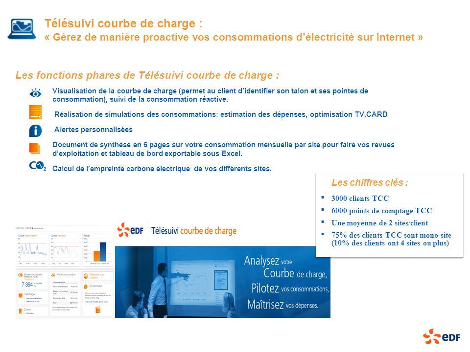 Télésuivi courbe de charge : « Gérez de manière proactive vos consommations d'électricité sur Internet »