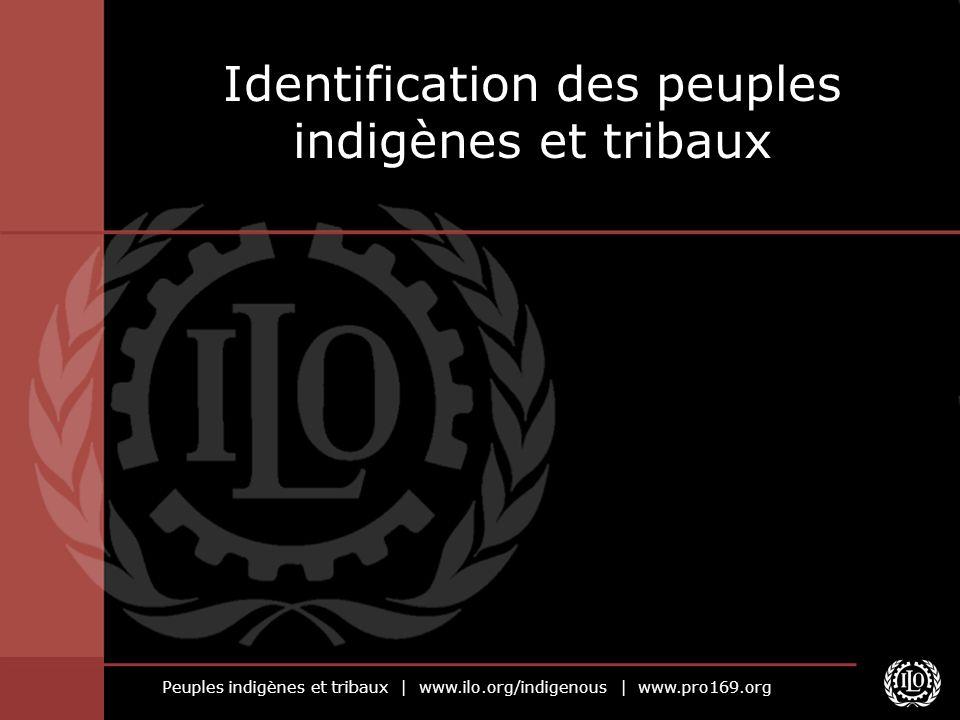 Identification des peuples indigènes et tribaux