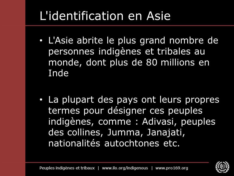 L identification en Asie