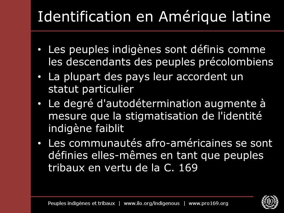 Identification en Amérique latine