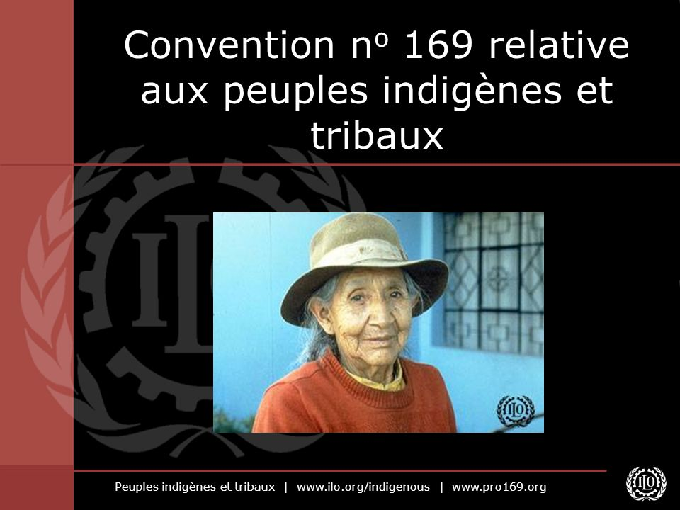 Convention no 169 relative aux peuples indigènes et tribaux
