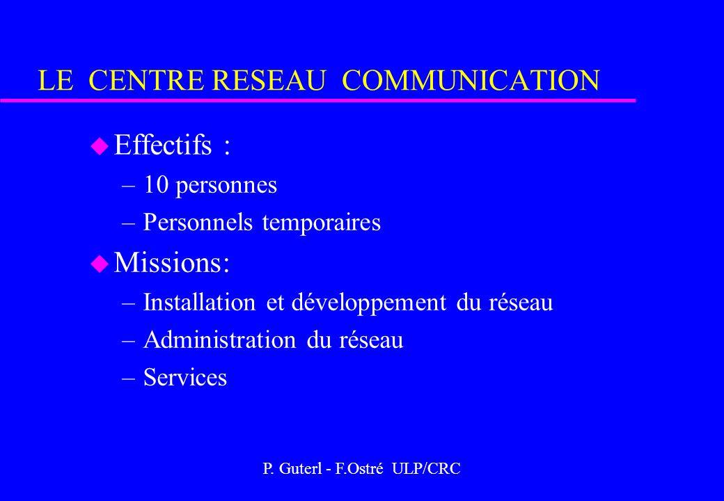 LE CENTRE RESEAU COMMUNICATION
