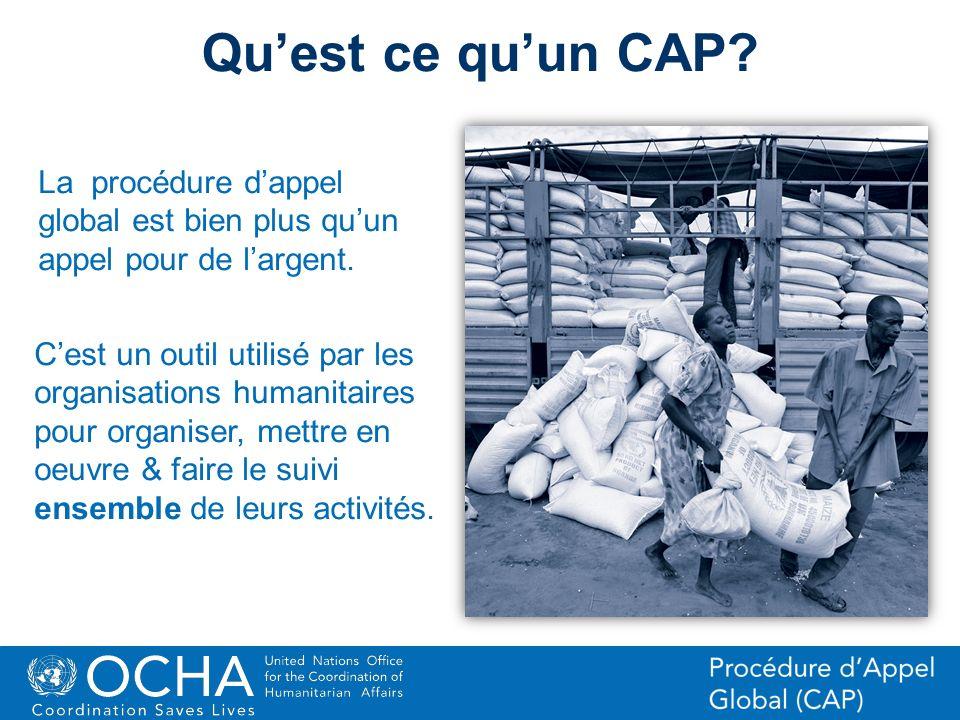 Qu'est ce qu'un CAP La procédure d'appel global est bien plus qu'un appel pour de l'argent.