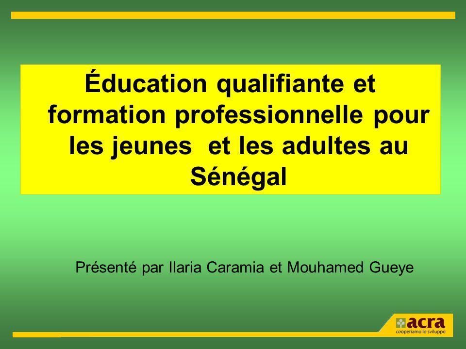 Présenté par Ilaria Caramia et Mouhamed Gueye