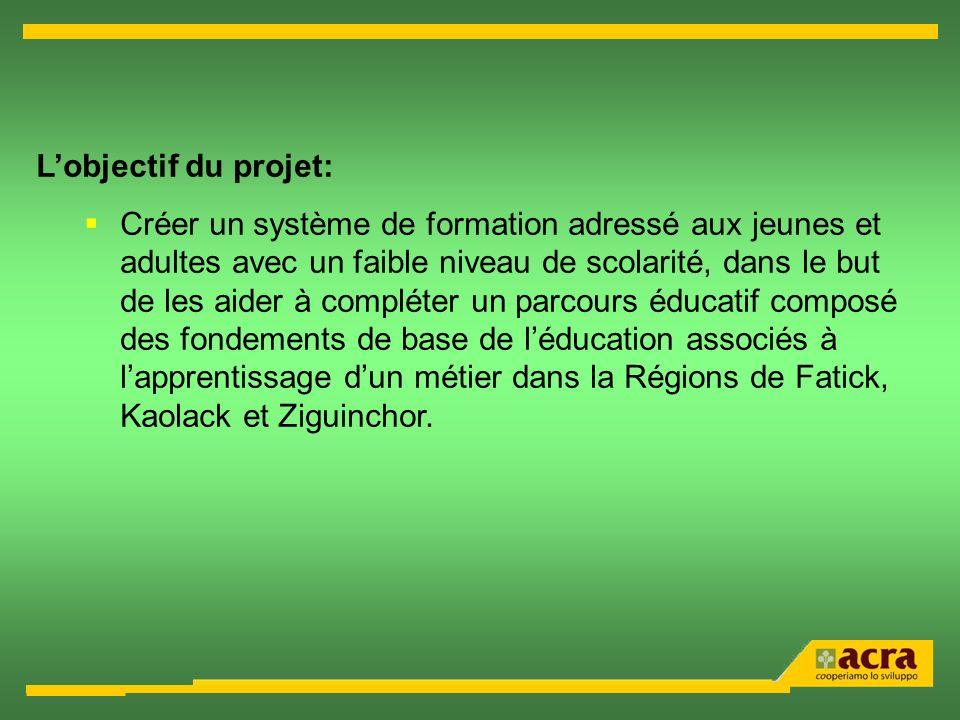 L'objectif du projet: